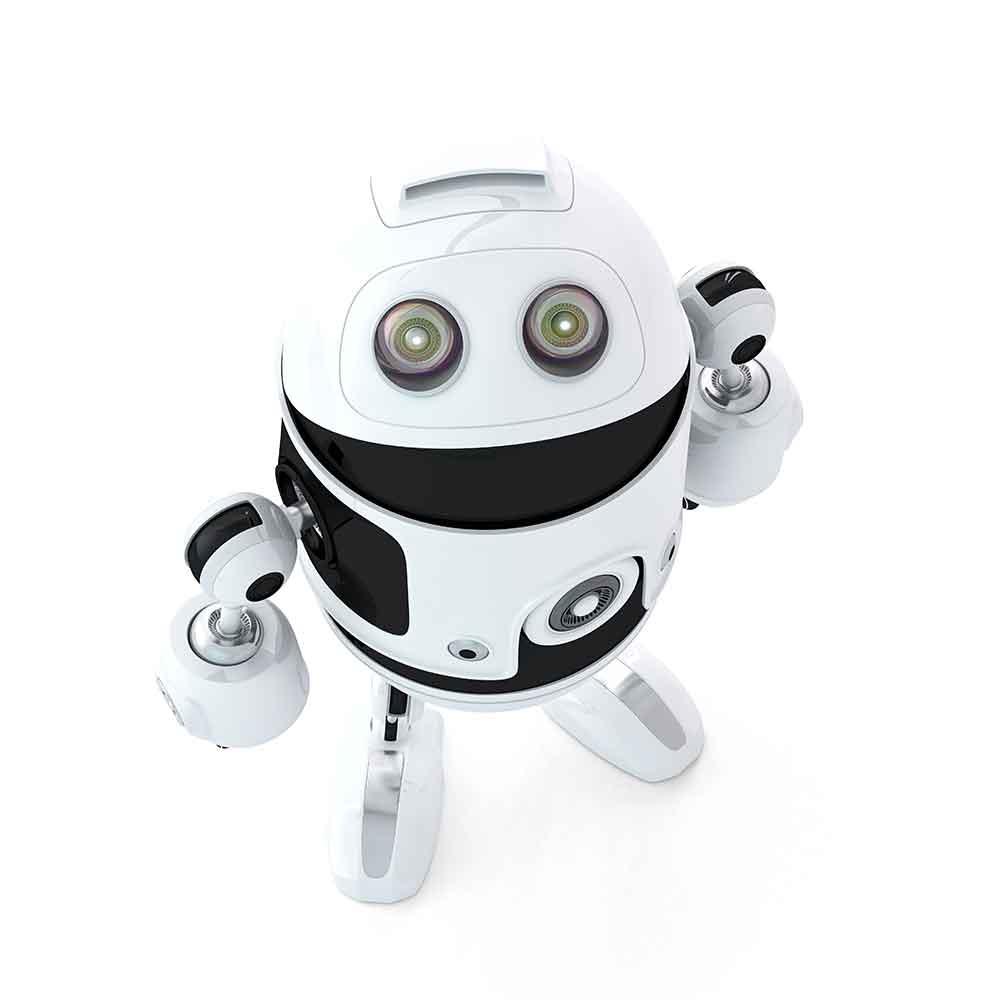 Roboter schaut